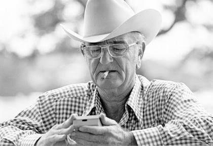 ~Lyndon B. Man wearing a Stetson hat 86d7b2fb628
