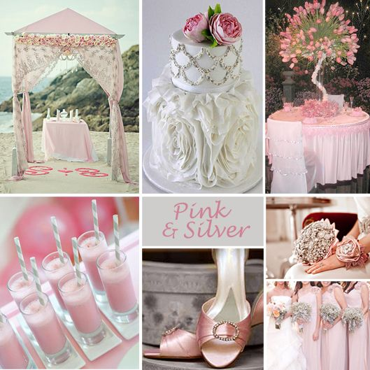Your Wedding Color Story - Part 2 | Silver wedding colours, Formal ...