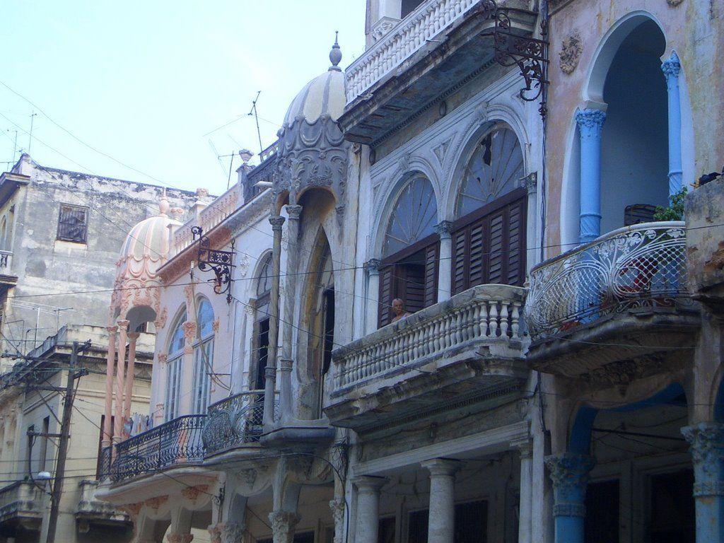 Casas de la calle Cardenas, Habana Cuba