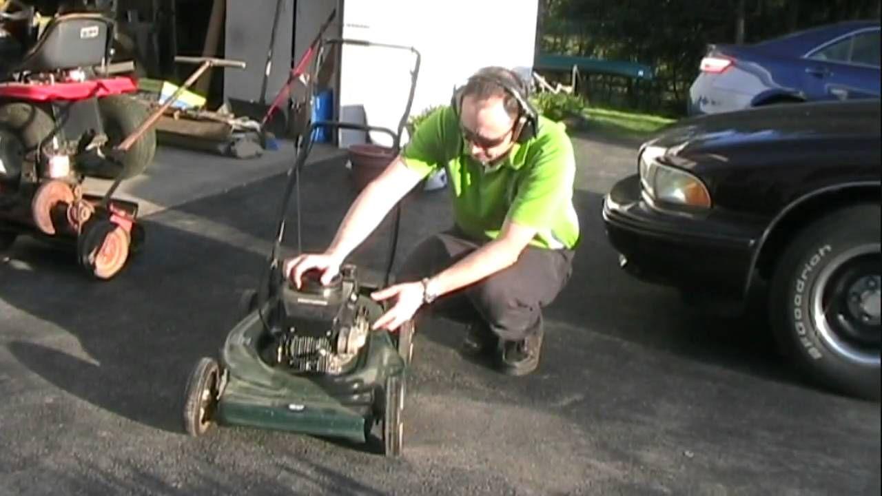 Cleaning Carburetor on Craftsman Lawn Mower Lawn mower
