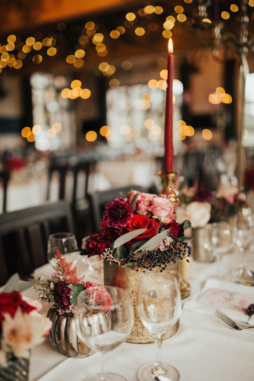 Anja & Christoph's warm leuchtende Herbsthochzeit in rot - Hochzeitswahn - Sei inspiriert