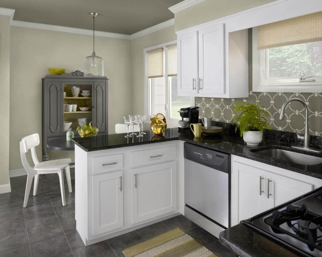 Pick The Best Color For Kitchen Cabinets Home And Cabinet Reviews Paint  Ideas Diy Amp Bath