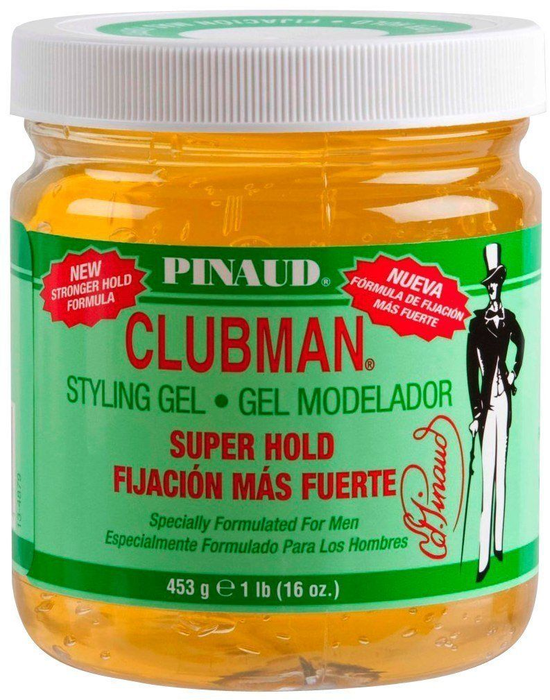 A I I Clubman Pinaud Clubman Hair Styling Gel Super Hold 16 Oz This Is An Amazon Affiliate Link Continue To The Product At The Styling Gel Hair Gel Gel