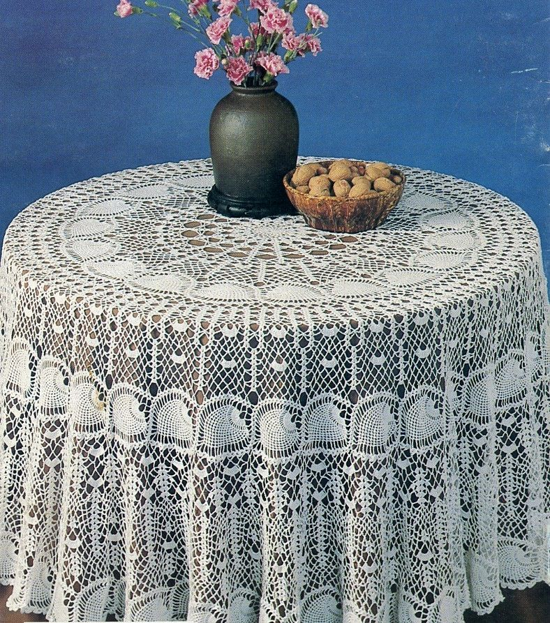 How To Make Simple Crochet Tablecloth Patterns Life123 Crochet