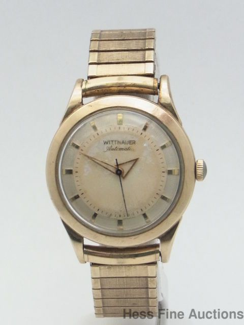 Wittnauer Watch Value >> Wittnauer Swiss Automatic Vintage Mens Gold Filled Wrist