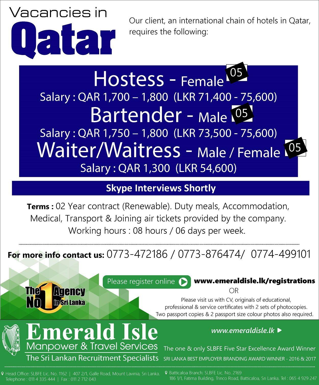 Emerald Isle Recruitment Specialist