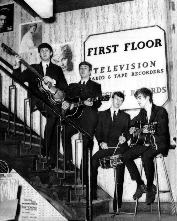 The Beatles at NEMS