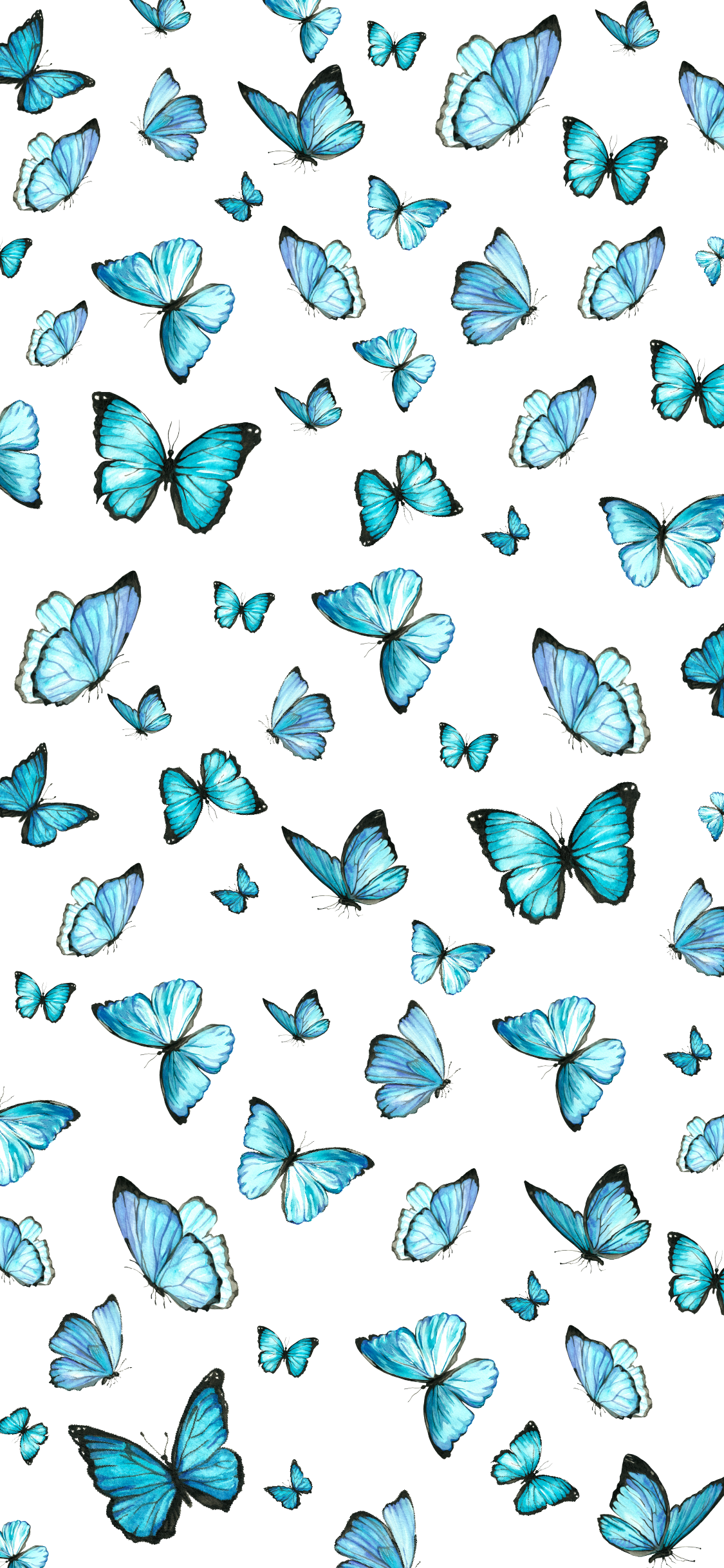 Iphone Wallpapers For Spring 2020 Butterfly Wallpaper Iphone Blue Wallpaper Iphone Cute Patterns Wallpaper