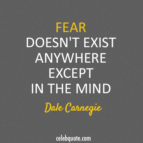 Dale Carnegie Quotes Stunning Dale Carnegie Quote About Fear I Love This Man He Is Amazing Every . Decorating Inspiration