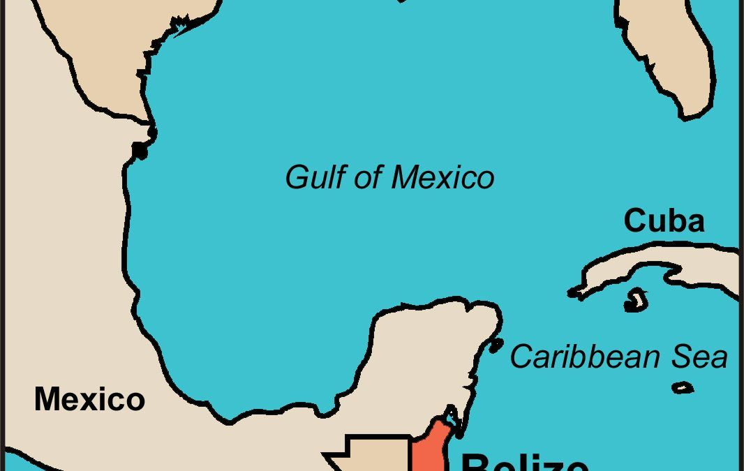 Where is Belize on a Map?   Map to show it\'s location in ...