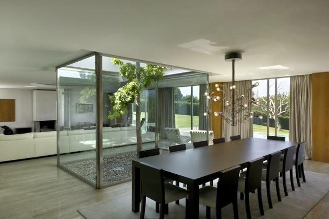 Decorar Un Patio Interior Moderno Patios And Interiors - Como-decorar-un-patio-interior