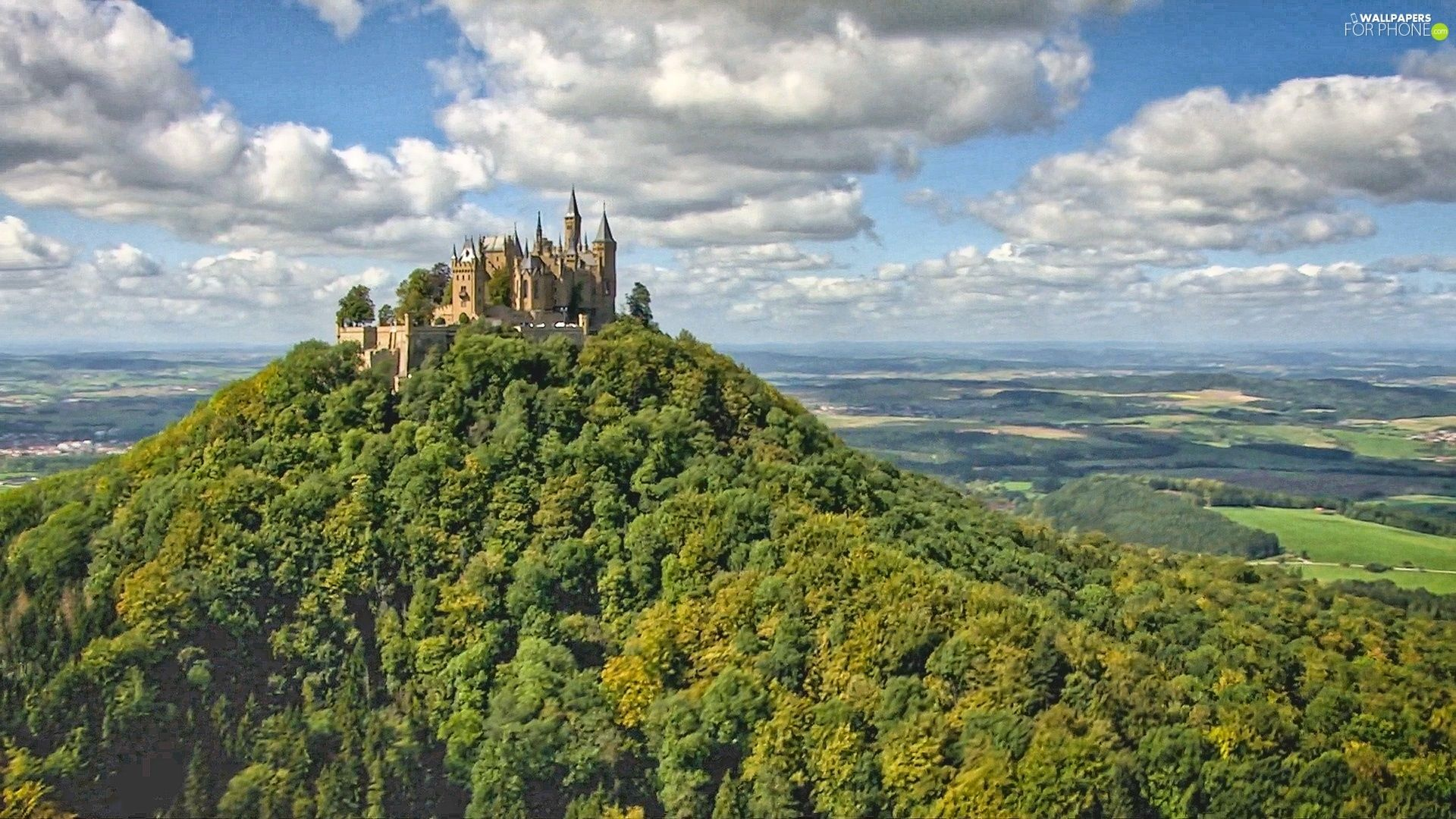Burg Hohenzollern Germany Castle For Phone Wallpapers 1920x1080 Hohenzollern Castle Castle Pictures