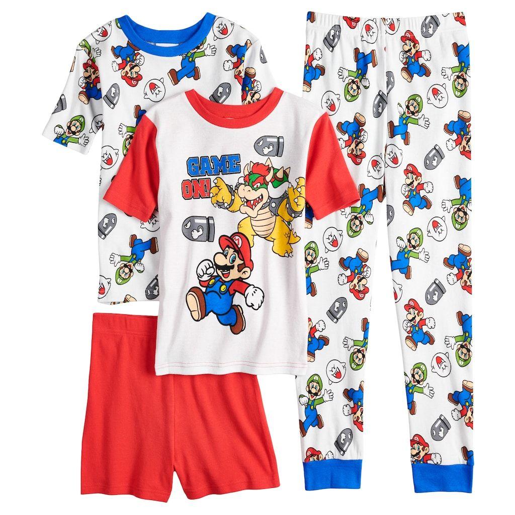 Super Mario Bros 3-Piece Pajama Set