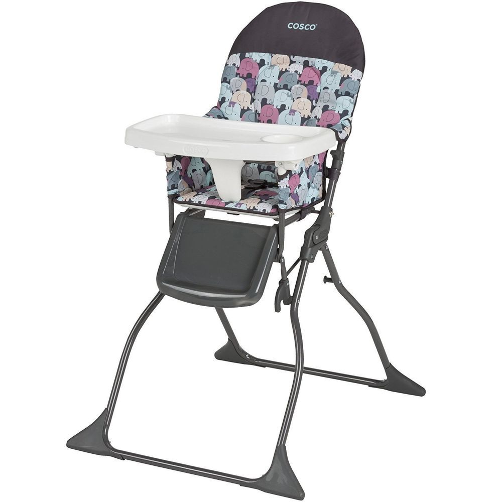 Portable Baby High Chair Infant Feeding Toddler Folding Seat
