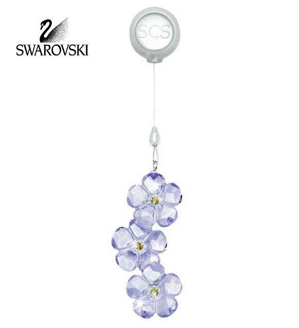 Swarovski 2011 scs arctic flower window ornament 1055006 for Swarovski decoration crystals