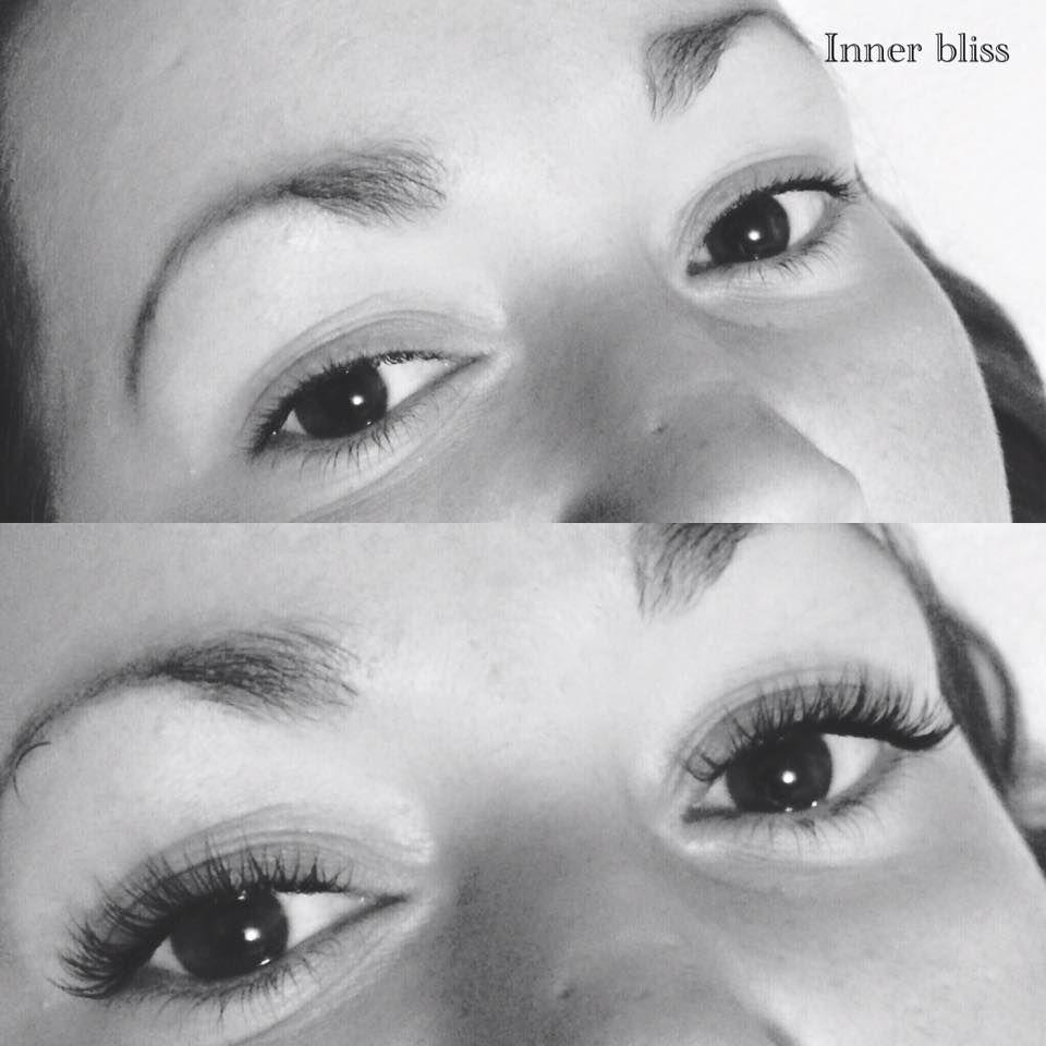 #eyelashextensions #basingstoke Individual Lashes Before