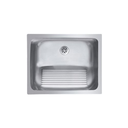 Found It At Wayfair Supply Single Basin Stainless Steel Laundry Sink With Washboard Laundry Sink Laundry Room Sink Laundry Room Storage