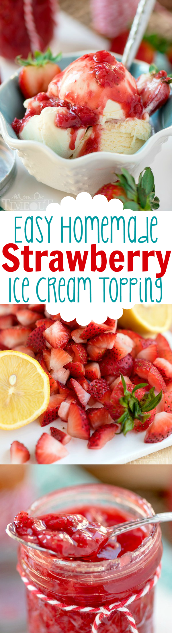 This Easy Homemade Strawberry Ice Cream Topping recipe is the perfect way to jazz up your ice cream tonight! Also the perfect topping for waffles, French toast, and so much more! Easy Homemade Strawberry Ice Cream Topping recipe is the perfect way to jazz up your ice cream tonight! Also the perfect topping for waffles, French toast, and so much more! |