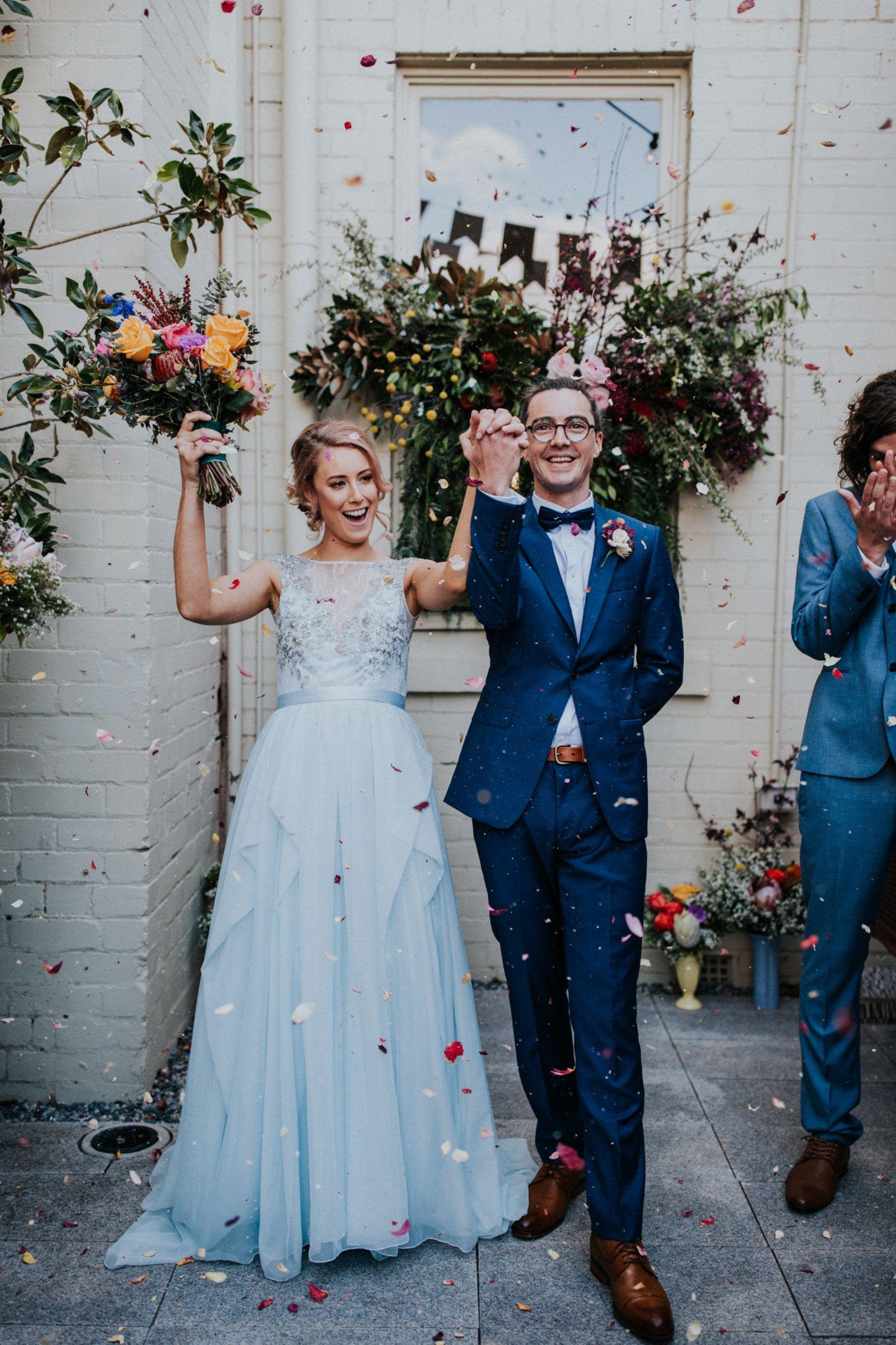Marina u camus vibrant fremantle wedding at guildhall uc