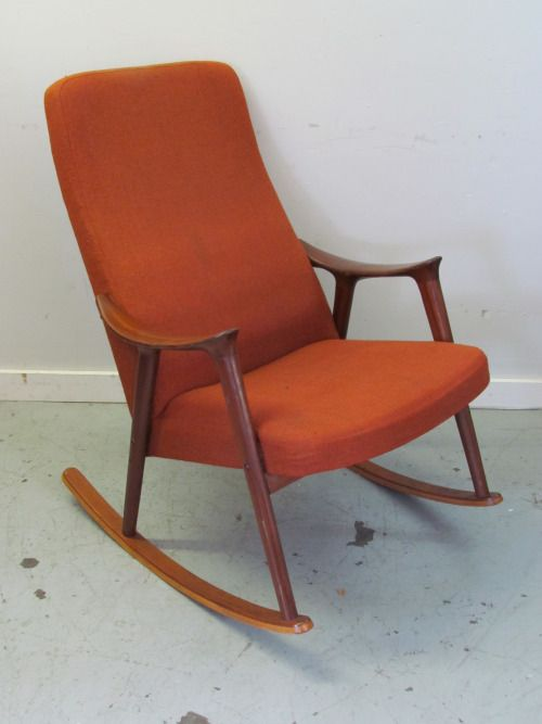 ingmar relling for westnofa mid century modern rocking chair our