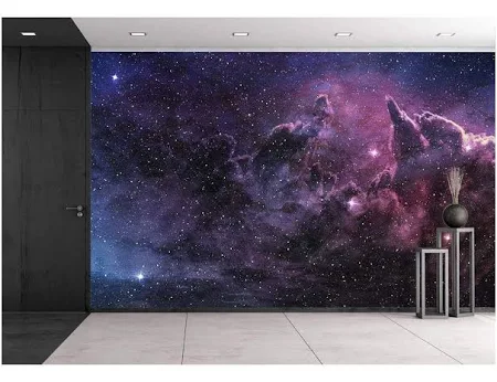 Wall Mural Beautiful Multicolored Galaxy Removable Sticker- 100x144 Wall26®