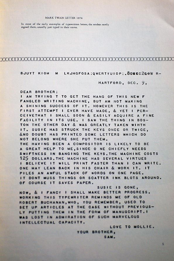 Letterology Ascii Art [][] Mark Twain Lettering