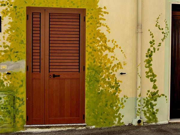 Painting Techniques for Walls Design With Leaf Drawing | DIY ...