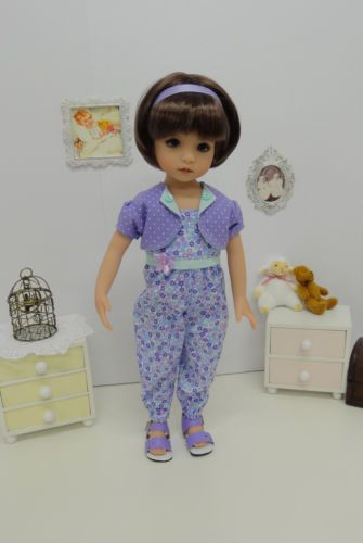 Pastel-Blossoms-jumpsuit-jacket-shoes-for-Dianna-Effner-Little-Darling-Doll