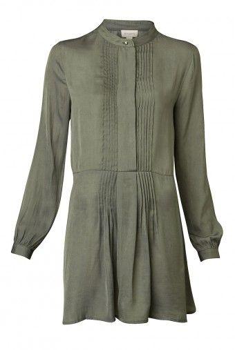 Pintuck Shirt Tunic - Witchery $129