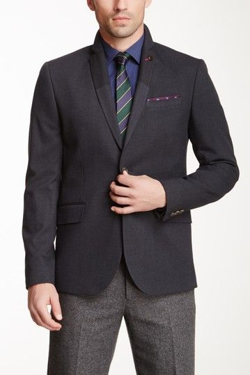 Lupinn Linen Blend Jacket by Ted Baker on @HauteLook
