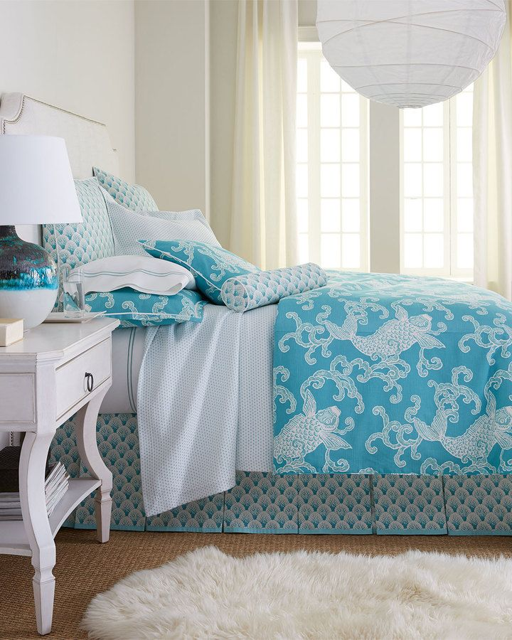 Legacy Pisces Bedding - home and bedding (blue comforters and duvets bedroom decor)