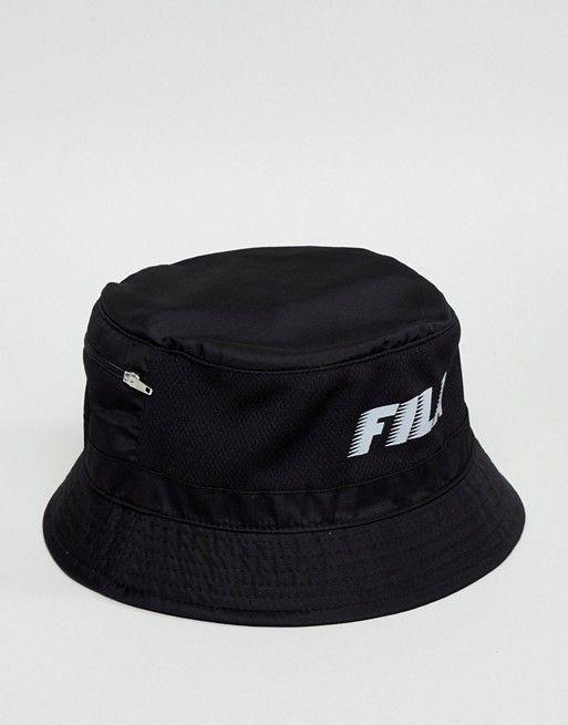 Fila Boyd bucket hat in black  d1de917de2fd