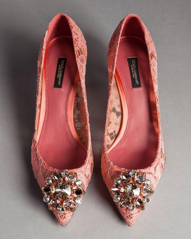 Dolce \u0026 Gabbana LACE BELLUCCI PUMPS