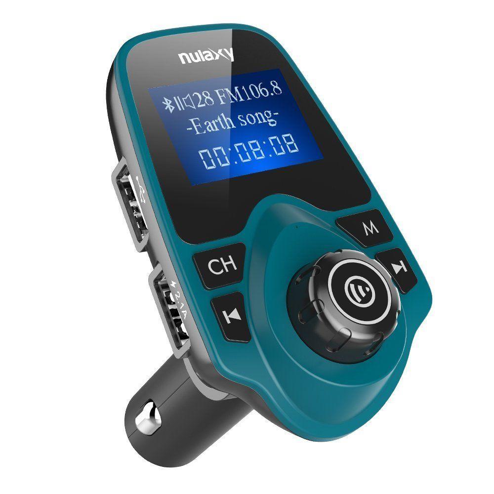 Auto KFZ Bluetooth FM Transmitter MP3 Player USB Stick SD AUX Freisprechanlage