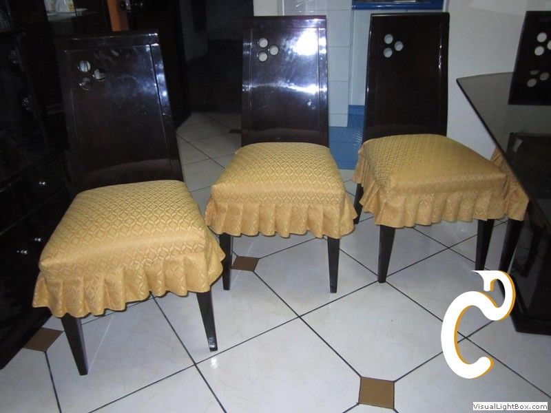 Forros para sillas ideas para manualidades pinterest for Cojines sillas comedor