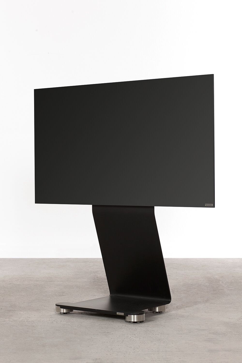 This Tv Holder Is A Free Standing Model Available With Integrated
