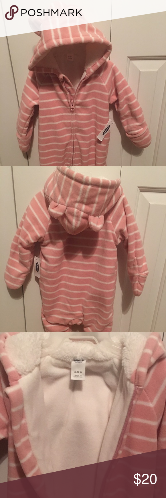 61ae7864b1cf Baby girl Old Navy snowsuit size 6 12 months Brand new Old Navy pink ...