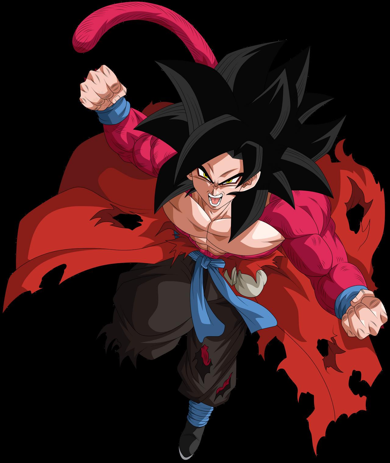 Goku Xeno Super Saiyajin 4 By Arbiter720 On Deviantart Goku Goku Xeno Personajes De Goku