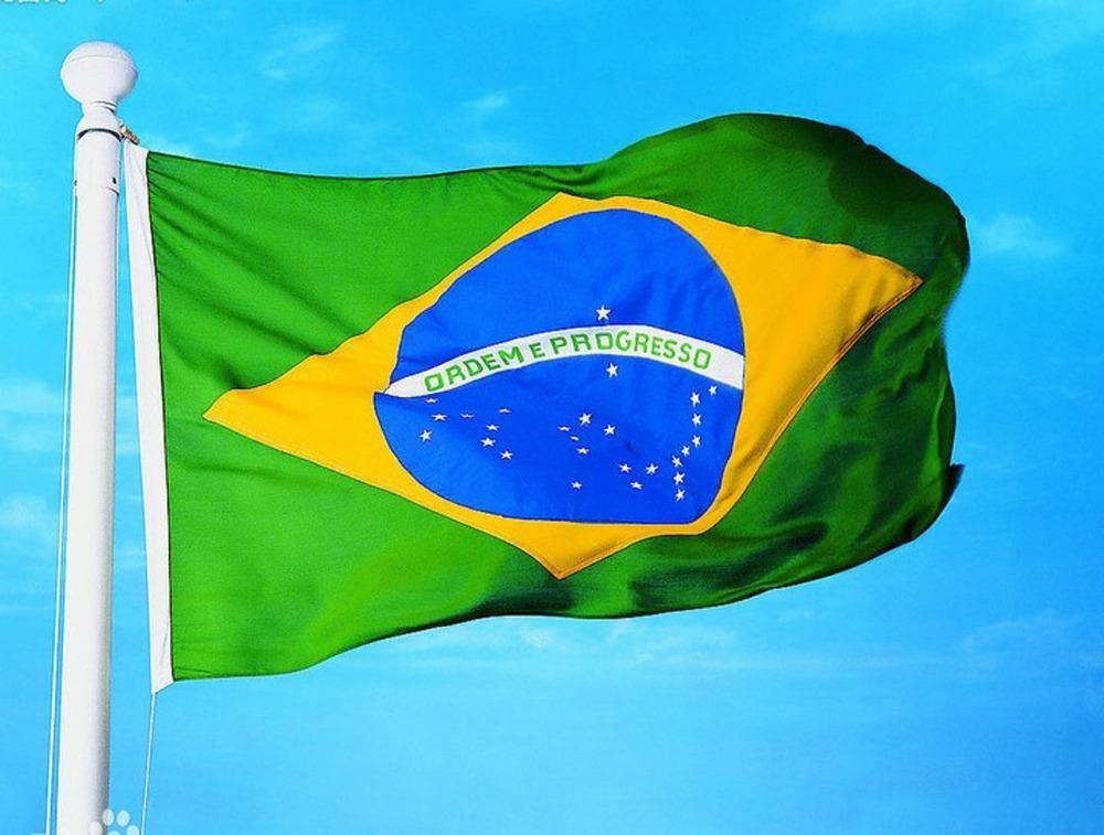 Brazil Brazilian Flag national flags Brasil FLAG Country Banner  Home Decoration