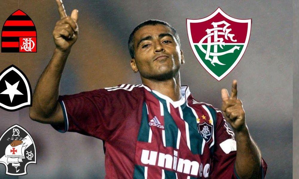 Quando O Romario Humilhava Pelo Fluminense Fluminense Romario Futebol