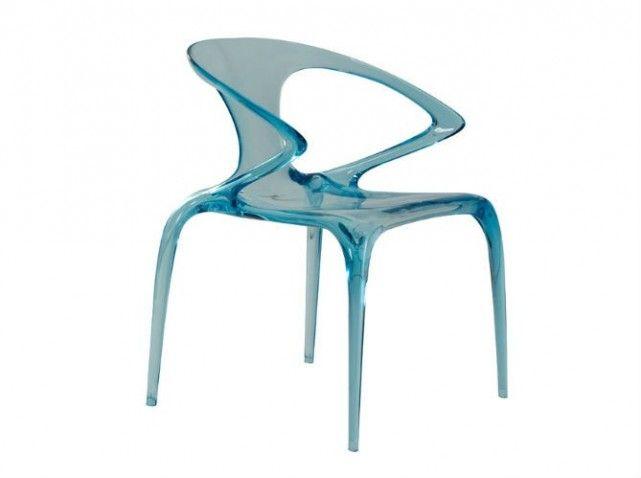 chaise Roche Bobois | matières froides | Pinterest