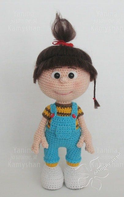 Little baby girl, amigurumi crochet pattern More ...