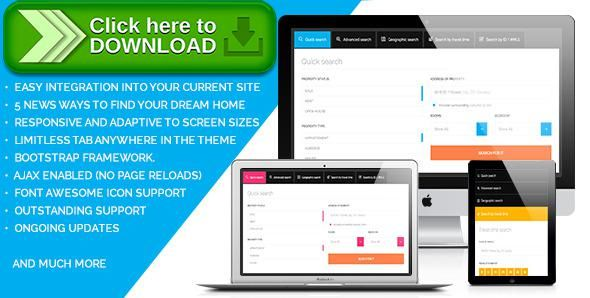 Free Nulled FlexEstate  Responsive Form To Find Property