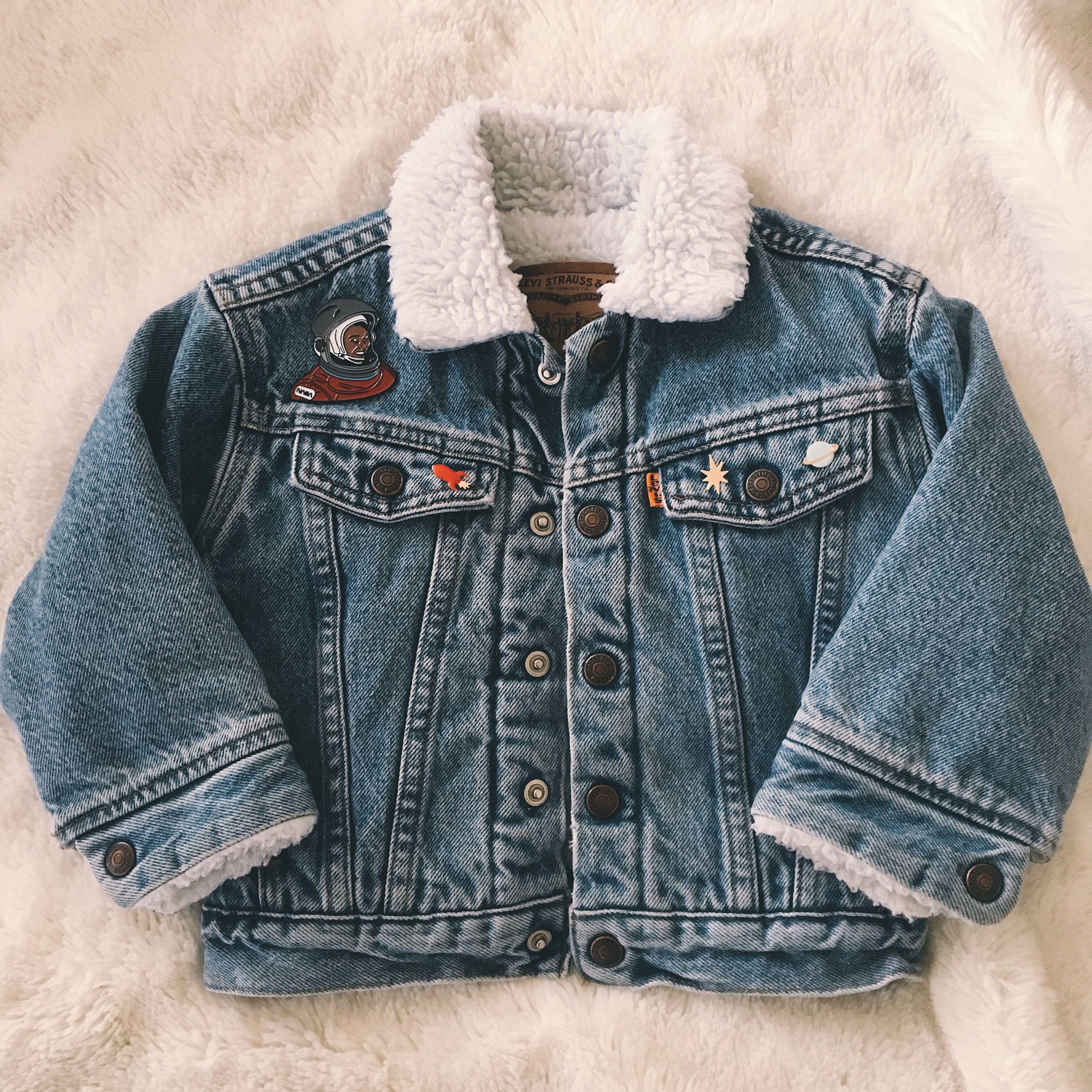 Vintage Toddler Levi S Trucker Jacket With Sherpa Lining Size 3t Levis Sherpa Jacket Baby Jacket Vintage Toddler [ 3024 x 3024 Pixel ]
