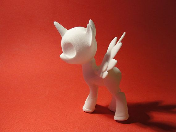 Royal Pony BJD by Silverbeam on Etsy, $70.00