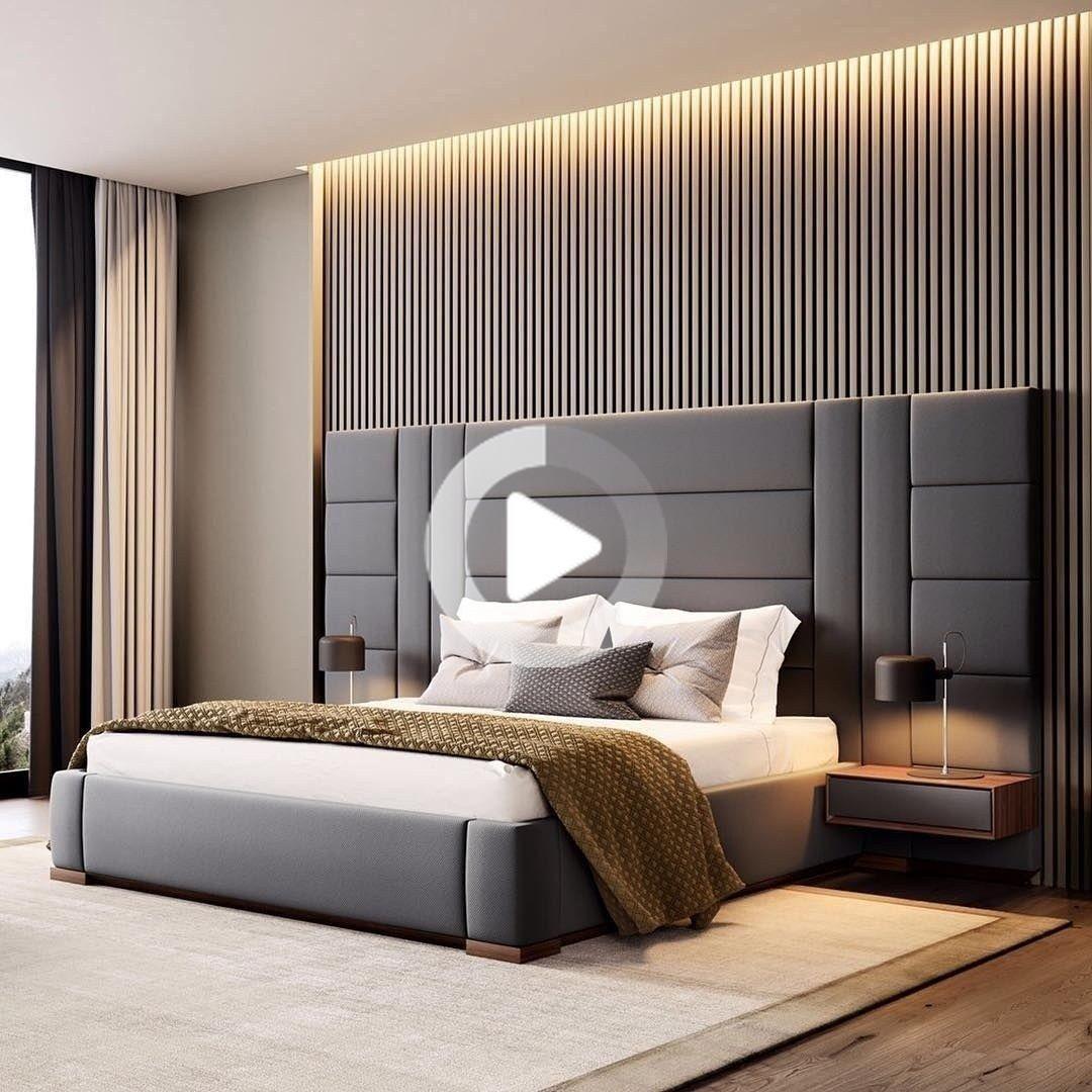 45 Latest Headboard Design Ideas For Bedroom Decor Luxury Bedroom Master Bedroom Furniture Design Luxurious Bedrooms Modern luxury bedroom set