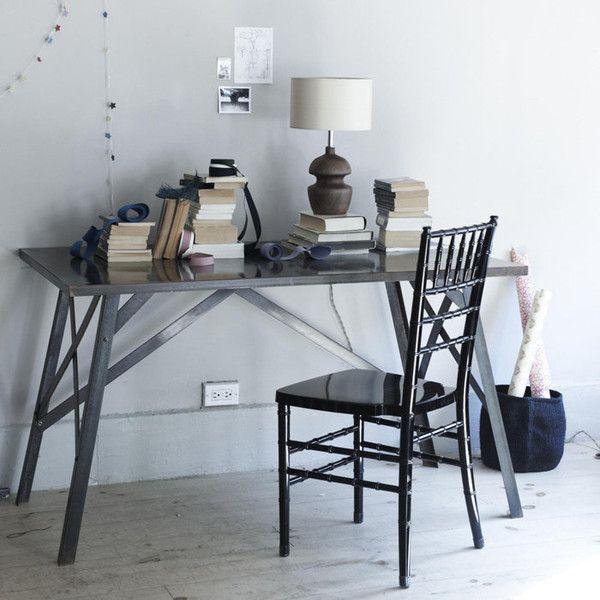 Canvas Home $1300 Metal Cross Brace Desk