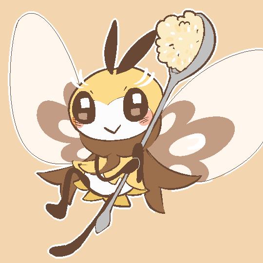 Ribombee Fairy Type Pokemon Pokemon Pokemon Art