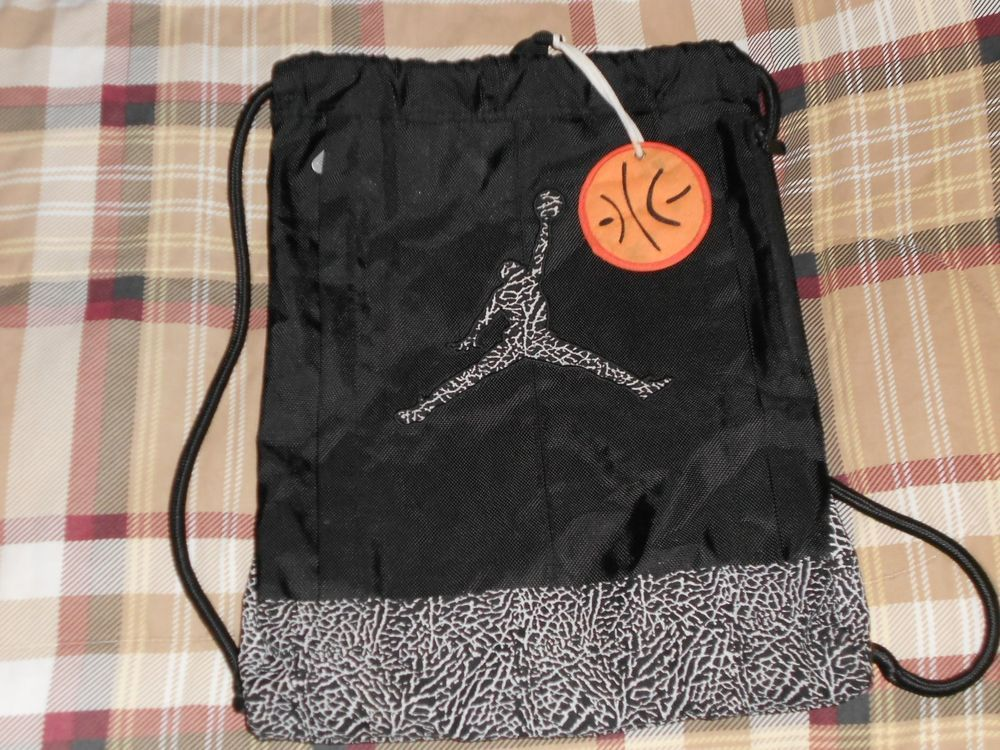 outlet store 54e29 ce1e1 air jordan drawstring backpack
