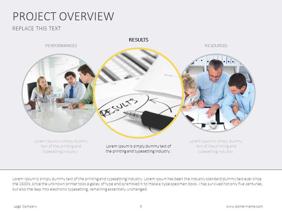 Add This Project Overview Slide To Your Presentation Toolbox For